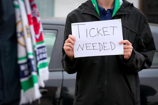 Ticket or leave it: many local fans have been left empty handed
