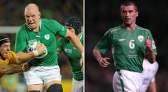 Alan Quinlan says Paul O'Connell is in many ways like Roy Keane