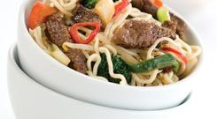 Sizzling Beef Noodles