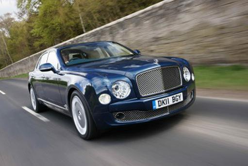 Sheer excellence: the Bentley Mulsanne has it all