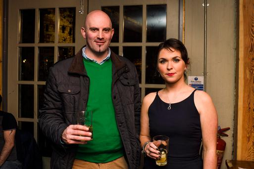 Pictured at the event: Andrew Imrie and Juneve Nicholls, KWM Wines, Kilkeel.