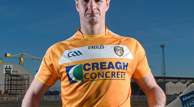 Rising above: Liam Watson is keen to help Antrim out of the doldrums after ending his three-year absence from the panel