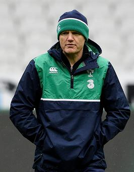 Adapting: Joe Schmidt is taking sensible small steps to change