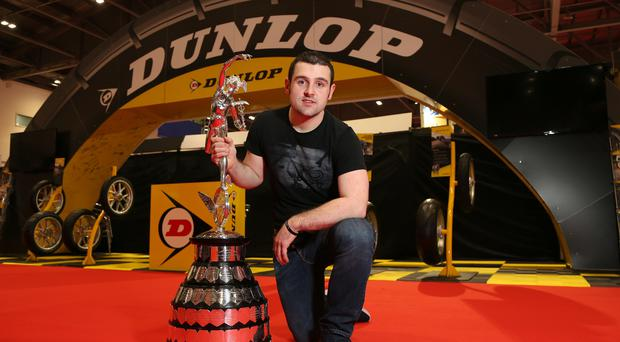 Familiar face: Michael Dunlop has confirmed that he will be back on the machinery of German manufacturer BMW at the Isle of Man TT in June