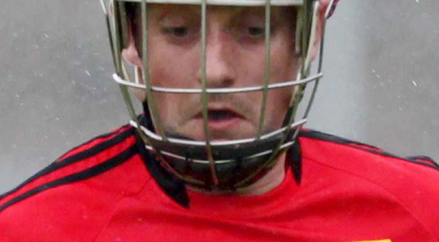 Down player Scott Nicholson helped his team to victory