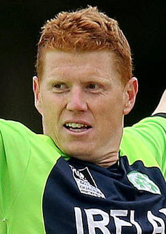 Kevin O'Brien gave an outstanding performance for Ireland
