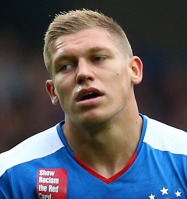 Off target: Martyn Waghorn failed to find the net