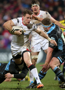 Charging ahead: Craig Gilroy is eager for Ulster to cement their place at the top of the PRO12 table