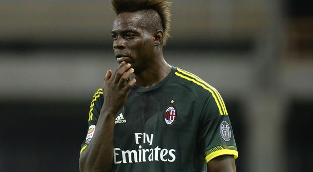 Mario Balotelli could be returning to Liverpool. Pic Getty