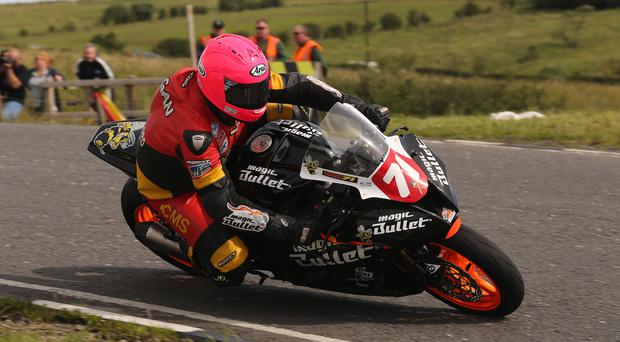 On the road again: Davy Morgan is ready for his 22nd road racing season
