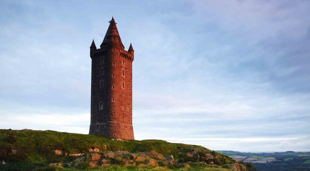 Scrabo Tower in Newtownards, Co Down
