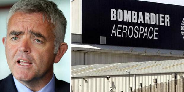 Bombardier is cutting 1,080 jobs in Northern Ireland