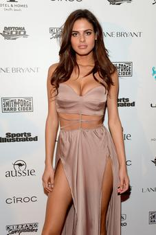 MIAMI, FL - FEBRUARY 17: Model Bo Krsmanovic attends the Sports Illustrated Swimsuit 2016 Swim BBQ VIP on February 17, 2016 in Miami City. (Photo by Gustavo Caballero/Getty Images for Sports Illustrated)