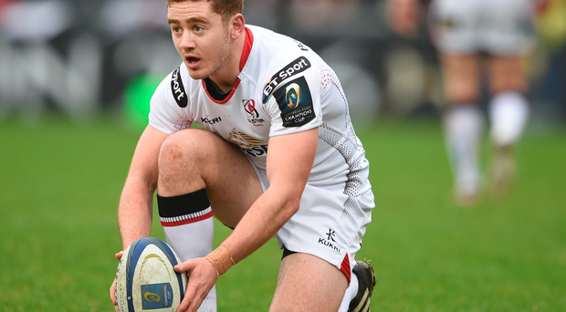Eyes on the prize: Paddy Jackson is keen to shine for Ulster and force his way back into Ireland's plans