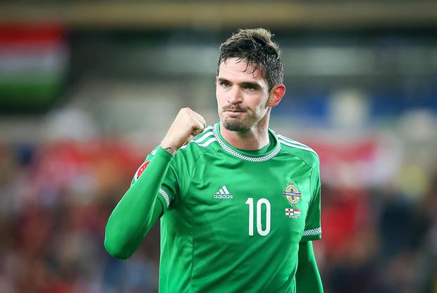 In limbo: Kyle Lafferty looks destined to remain at Norwich