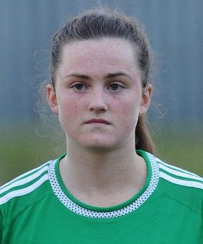 Aimee Mackin put away two goals for Armagh