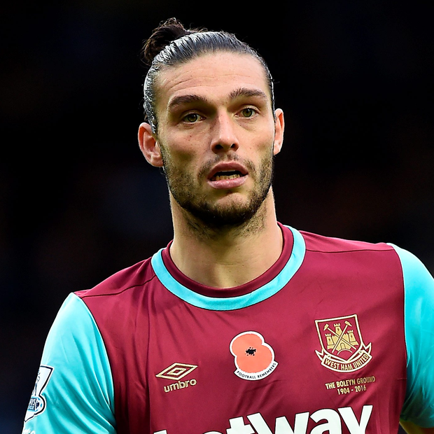 West Ham striker Andy Carroll has suffered a series of injury set-backs