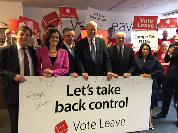Commons leader Chris Grayling, Culture Secretary John Whittingdale, Work and Pensions Secretary Iain Duncan Smith, Northern Ireland Secretary Theresa Villiers and employment minster Priti Patel have all joined the EU exit campaign