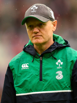 Different: Joe Schmidt can see recent changes in England