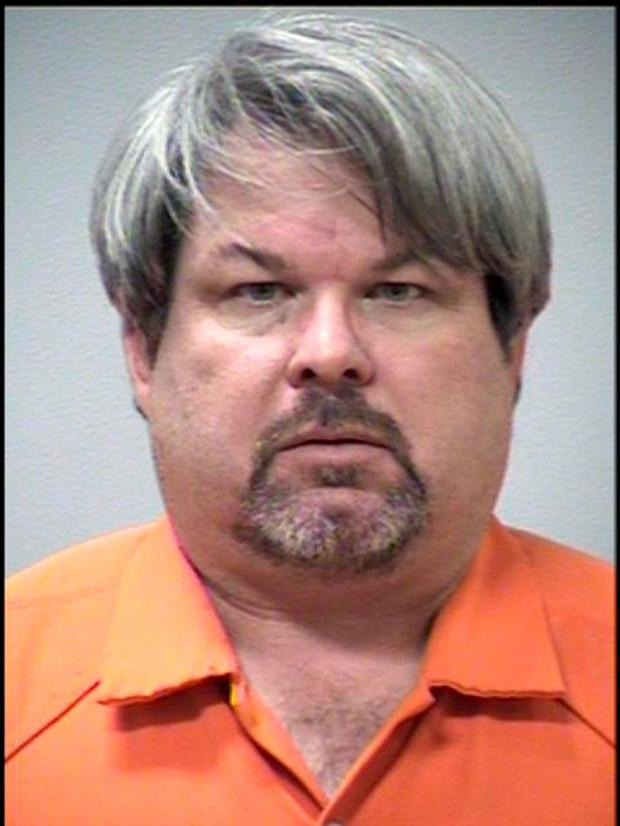 Shooting suspect Jason Brian Dalton, 45, after being arrested February 21, 2016 in Kalamazoo, Michigan. Dalton is accused of killing 6 people and wounding 2 others at three locations in Kalamazoo in a seemingly random shooting spree.
