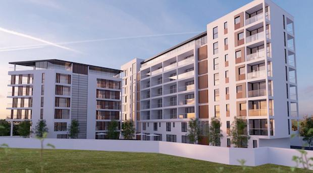 The proposed plan for Cultra Development Ltd apartment