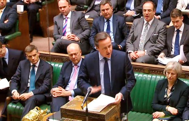 David Cameron told MPs that the UK should remain in Europe