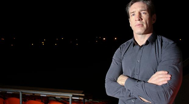 Train of thought: Kieran McGeeney says Armagh are well behind other counties when it comes to the quality of training facilities