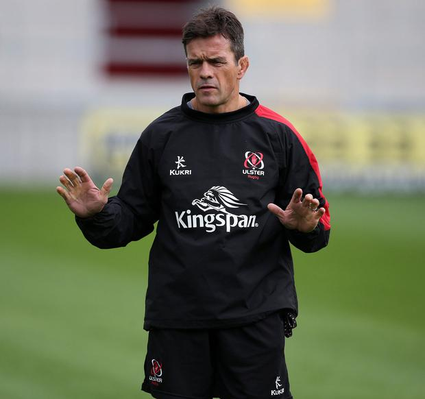 Clear message: Ulster forwards coach Allen Clarke is keen for the province to leave their lethargic starts in the past