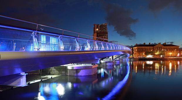 Lagan Weir Footbridge, Belfast