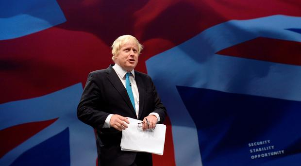 Mayor of London Boris Johnson, who is campaigning for Britain to leave the European Union in the forthcoming in/out referendum