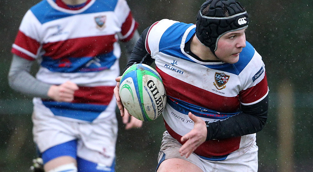 One to watch: Dalriada ace Denis Pasternak is hoping to unlock the Campbell College defence today