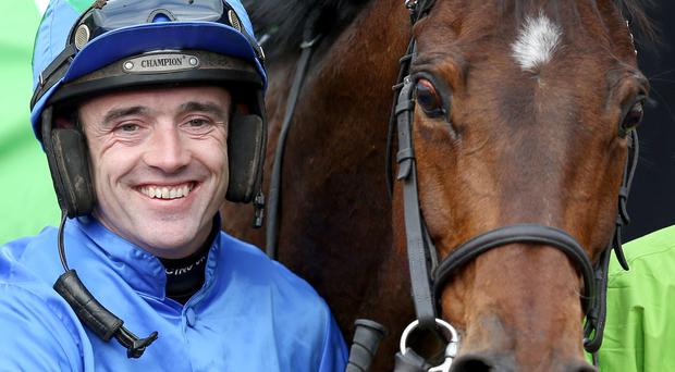 Ruby set to sparkle: Irish champion jockey Ruby Walsh is one of the big names in action today at Downpatrick