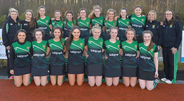 Sullivan Upper defend their Belfast Telegraph Senior Schools Cup title today at Lisnagarvey