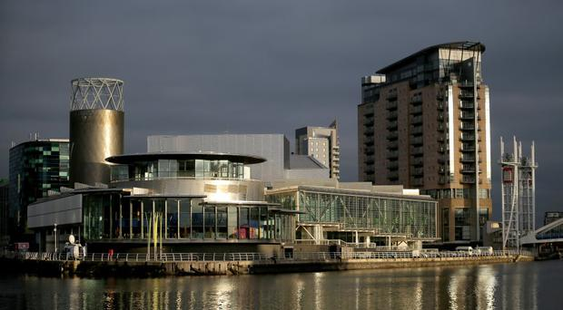 Media City in the Salford Quays development (Photo by Christopher Furlong/Getty Images)