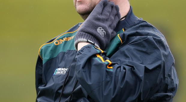 Unhappy: PJ O'Mullan insists the play-off system is wrong
