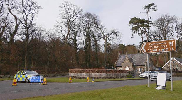 Carnfunnock Country Park was closed during security alert (Photo by Kevin Scott / Presseye)