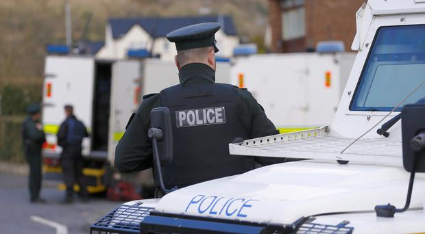 Police and the Army bomb squad attended the scene. Presseye