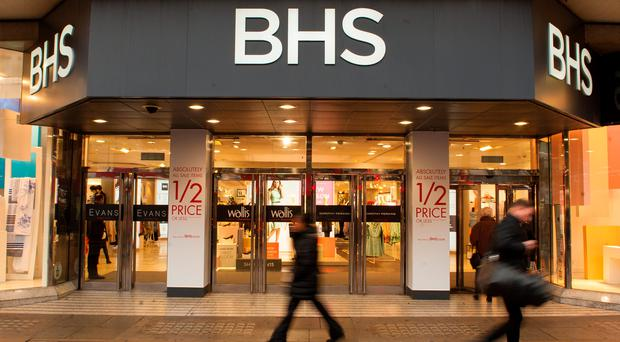 BHS is seeking to make severe rent cuts