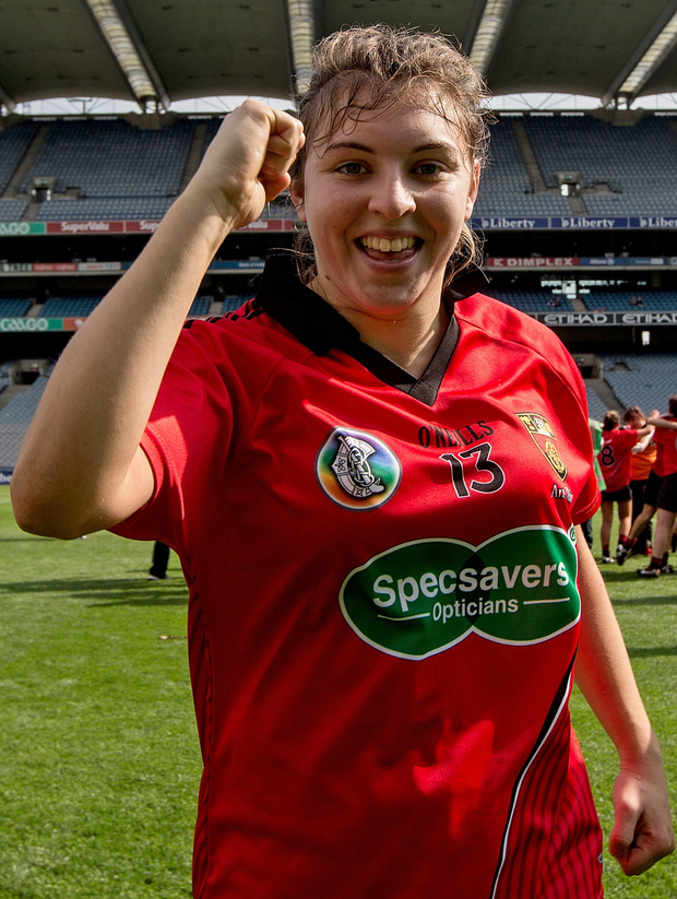 Down camogie player Niamh Mallon