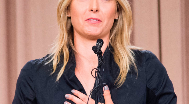 Huge error: Maria Sharapova, who could be banned for two years, announces that she didn't realise Meldonium is prohibited