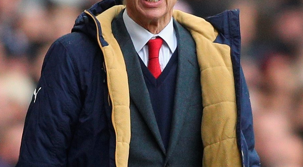No giving up: Arsene Wenger