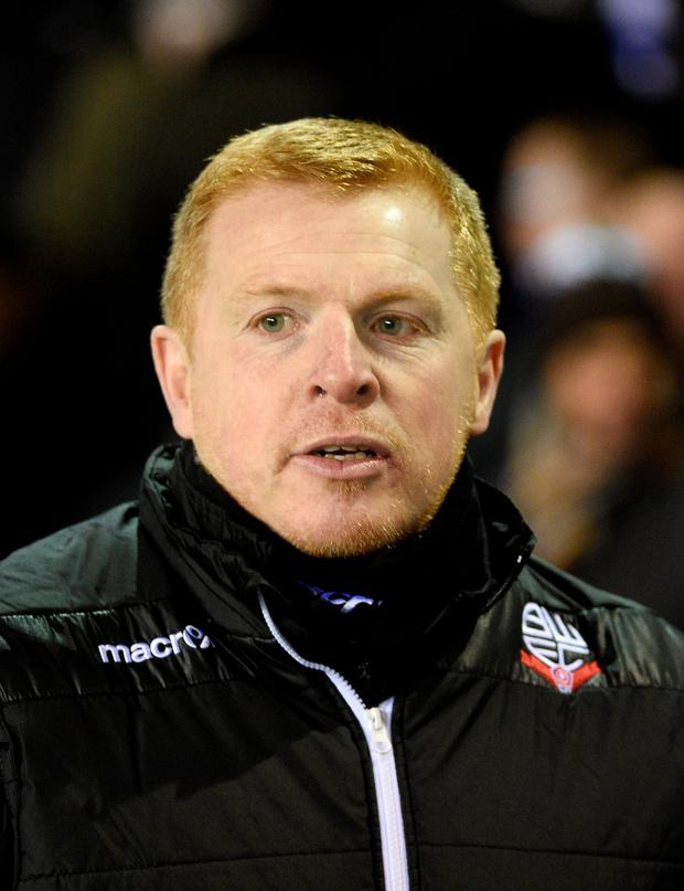 Thriller: Neil Lennon watched Bolton earn point