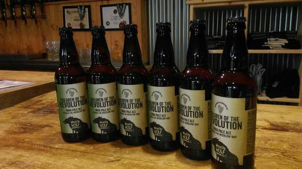 Wicklow Wold Brewing Company's Children of the Revolution Beer
