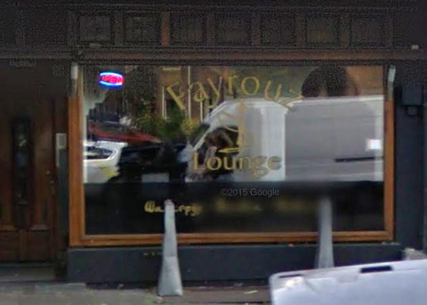 Man's head was found outside the Fayrouz Lounge in Amsterdam. Image: Google