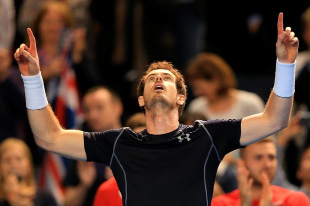 Great Britons: Andy Murray begins his defence of the Davis Cup