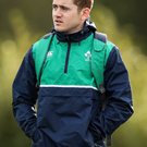 Paddy Jackson in training for Ireland