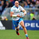 Heat on: Sergio Parisse claims the pressure is on Italy