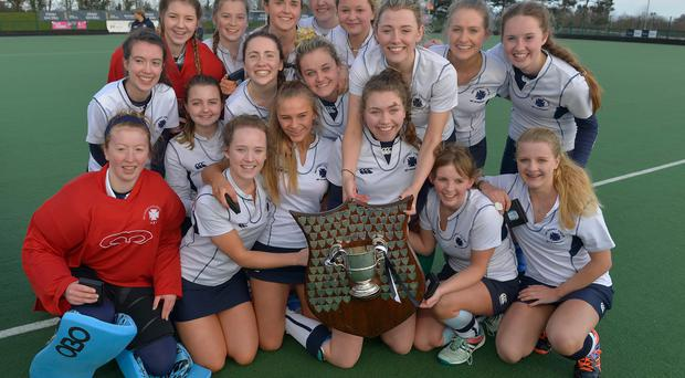 Champions: Belfast Telegraph Cup winners, Methodist College, added the All-Ireland crown to their collection yesterday