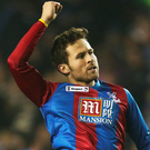 Spot on: Yohan Cabaye netted