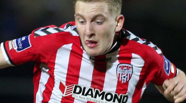 Shining starlet: Derry's Ronan Curtis lit up the Brandywell